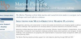 Marine Planning Website